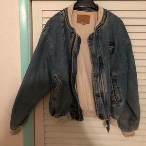 Vintage 80's Hysteric Et Vous jean jacket